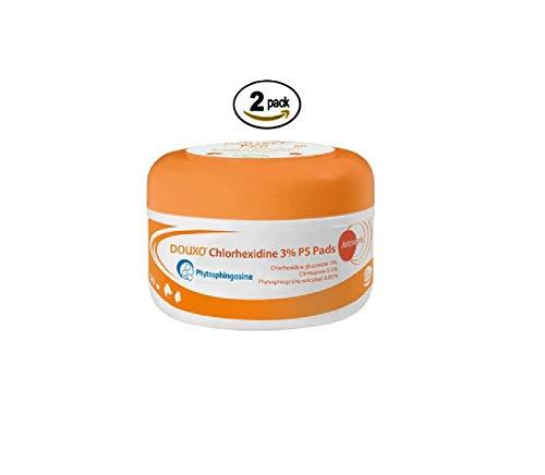 Douxo Pyo Pads 30 Pads (2 Pack) (Douxo Chlorhexidine 3 Ps Pads For Dogs)