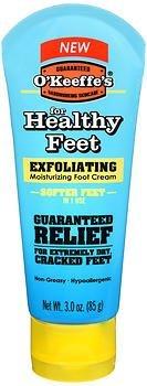 O'Keeffe's Healthy Feet, Exfoliating Foot Cream, 3 oz. Tube