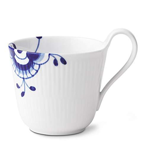 (Royal Copenhagen Blue Fluted Mega High Handle Mug, 11oz)