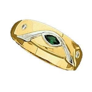 Ann Harrington Jewelry 14k 2-tone Gold 4x2 mm Marquise Ring Setting