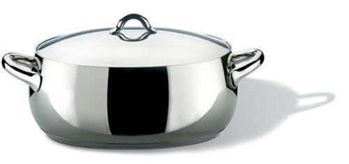 Alessi SG112/30–Casserole Pans (Stainless Steel, Stainless Steel)
