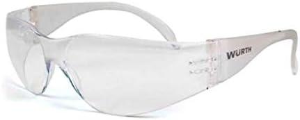 Würth 0899103120 - Gafas protectoras (lente clara, resistente)