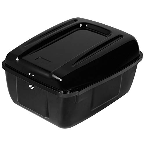 Police Motorcycle Accessories - XFMT Police Motorcycle Trunk Saddlebag TourPack Compatible with all Harley FLHP and FLHTP Painted