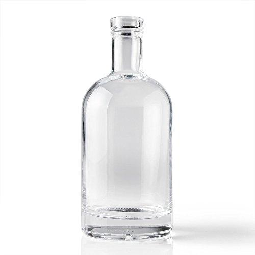 Bourbon Bottle (750 ml Bourbon Bottle & Shot Glass)