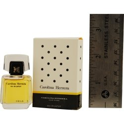 HERRERA by Carolina Herrera for WOMEN: EAU DE PARFUM .13 OZ MINI (note* minis approximately 1-2 inches in (0.13 Ounce Mini Perfume)