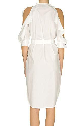 Pinko Blanco Vestido Poliéster Mcglvs0000005107e Mujer r1qrEwH