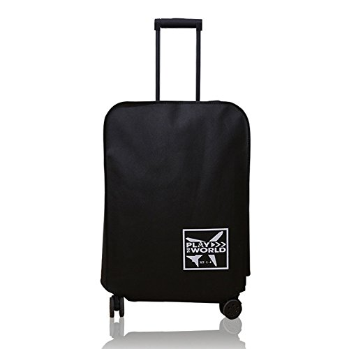 Luggage Cover Suitcase Accessories Outdoor Dust-Proof Waterproof Non-woven Fabric Anti-scratch Protective Thickened…