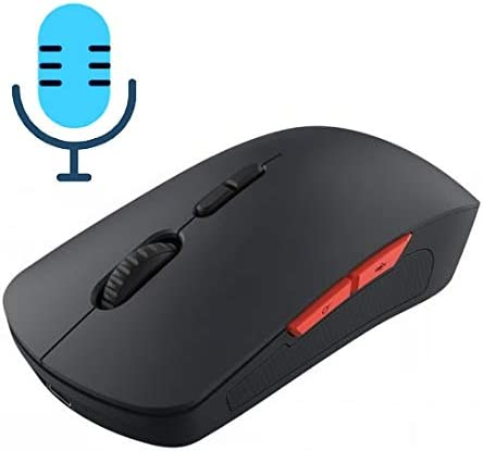 AFANG V6 2.4GHz 1200DPI 7-Keys Wireless Optical Mouse with Micro USB Receiver Color : Black Black Support Intelligent Translation /& Voice Commands