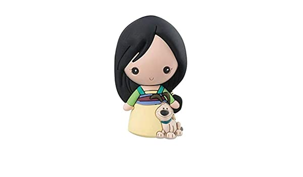 Disney Princesas Mulan Llavero Monogram 7 cm Serie 9 # 7 ...