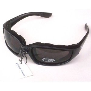 eb54d7f483f Amazon.com  Oriole Birdz Motorcycle Padded Glasses Smoked Anti Fog ...