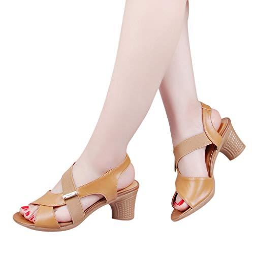 Ete Talon Femmes Ohq Garçon Jaune Pas Plates Rouge Pour sandales De Dorees Élastique Cuir Cher Randonnee Compensées D'été Marche S656xq4wt