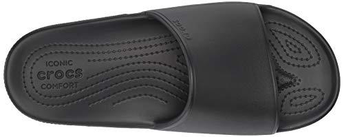 A Crocs Classic 001 black Nero Punta Unisex Slide Sandali Aperta Adulto Ii rqFxq6I