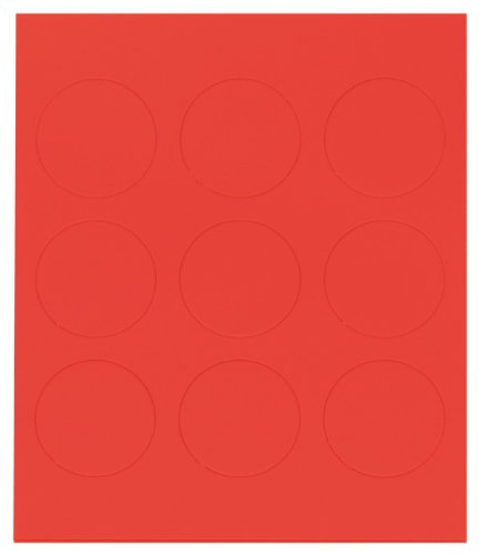 Franken M83501Magnetic Symbol 20mm, 20g, red (Rechteck-symbol)