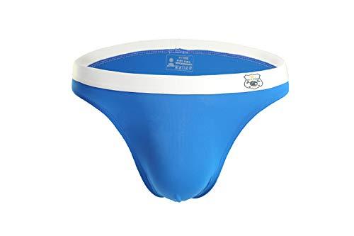 7ce4842509 BRAVE PERSON Men s Fashion Swim Briefs Smooth Nylon Fabrics Quick-drying  Underwear B1141 (L 30
