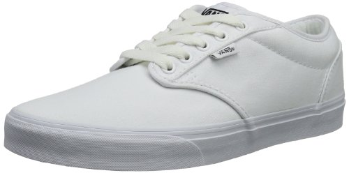 White Women's Low White Top Atwood Vans Trainers zYwAAx