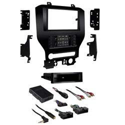Metra 99-5838CH Turbo Touch Premium Dash Kit with Integrated Touch Screen For 2015-UP Ford Mustang with 4.2'' Screen