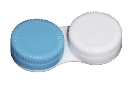 10 Stck. Kontaktlinsenbehälter zur Aufbewahrung für weiche Kontaktlinsen (Blau)