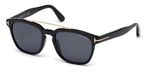 TOM FORD FT0516 01A OCCHIALE DA SOLE NERO BLACK SUNGLASSES SONNEBRILLE NEW - Ford Holt