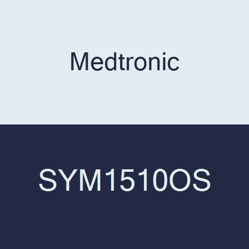 Covidien SYM1510OS Symbotex Mesh Patch, Skirted Monofilament Polyester with Absorbable Collagen Film and Marking, 15 cm x 10 cm Size
