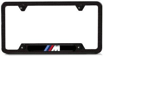 Carbon Lifestyle (BMW M carbon fiber license plate frame)