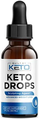 Keto Drops - Advanced Keto Weight Loss - Raspberry Ketones - Thermogenic & Ketogenic Fat Burner - Natural Ketosis Diet Appetite Control & Metabolism Booster - Burn Fat Instead of Carbs - 2 oz Bottle