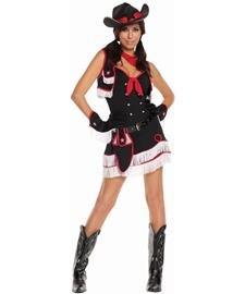 Adult Dirty Halloween Costumes (Dirty Desperado Adult Costume - Small)
