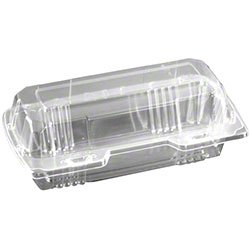 Polar Pak Hot Dog Clear Take Out Containers 750/cs (Pak Hot)