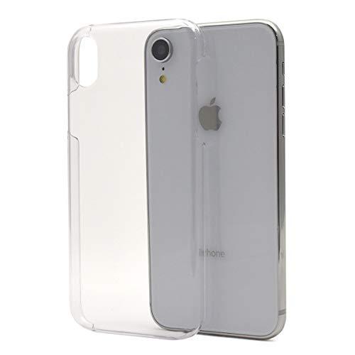 告発振幅保険をかけるPLATA スマホケース iPhoneXR ハードケース 【 クリア 】 背面 衝撃吸収 各種ボタン操作可能