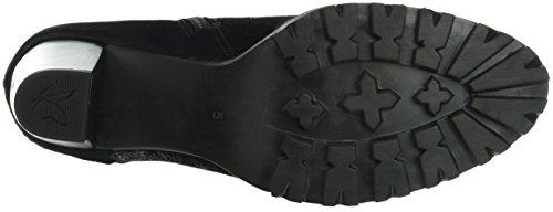 Black Comb 9 Blk Ankle Boots Women's Sue Caprice 25409 fxU7II