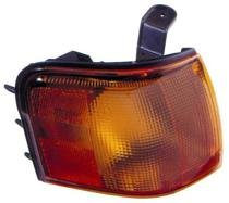 Go-Parts ª OE Replacement for 1995-1997 Toyota Tercel Corner Light Assembly/Lens Cover - Right (Passenger) 81510-16220 TO2531120