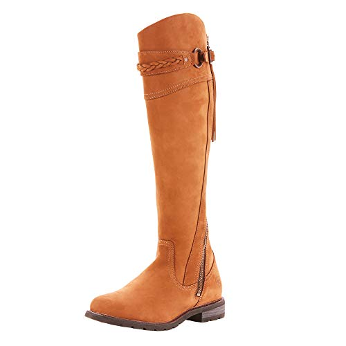 Ariat Women's Chestnut Alora Riding Boot Round Toe Chestnut 8 1/2 B