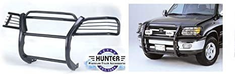 Hunter Premium Truck Accessories Stainless Steel Grille Guard Fits 00-06 Toyota Tundra 01-04 Sequoia