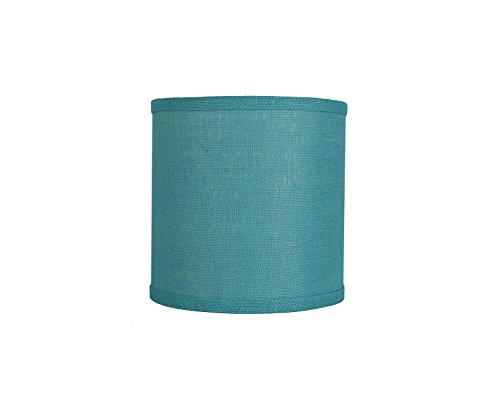 Urbanest Classic Drum Burlap Lampshade, 10-inch by 10-inch by 10-inch, ()