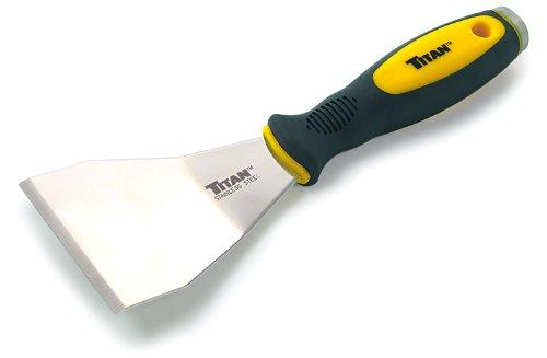 Titan 11504 3-Inch Offset Stainless Steel Scraper