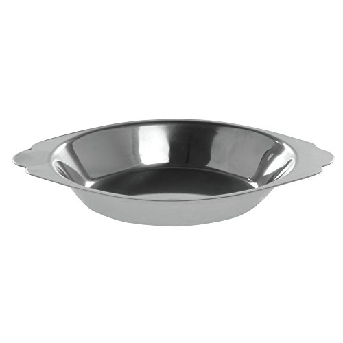 HUBERT Stainless Steel Au Gratin Dish 6 Ounce - Gratin Dish Stainless Au Steel