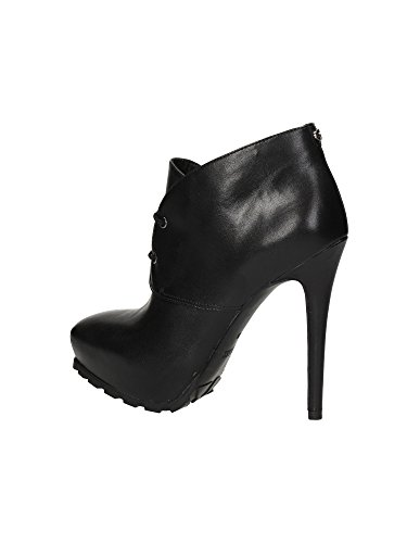 Scarpe Tronchetto Donna Mod.IRRIS LEATHER ANKLE BOOT FL6IRRLEA09 Col. Nero.