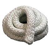 1 inch Woodstove Gasket Rope, Door Gasket, Round Fiberglass Rope Seal (10 Feet)