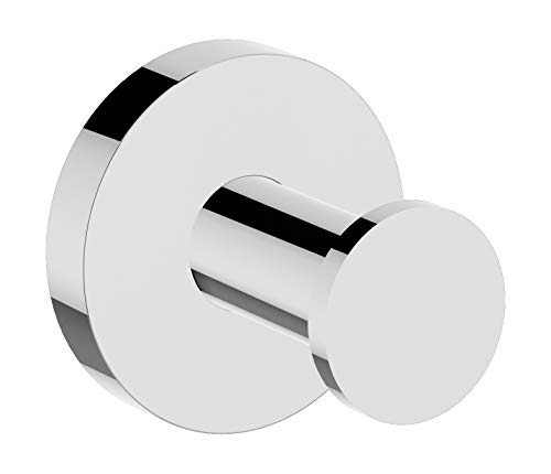 - Symmons 673RH Identity Wall-Mounted Robe Hook in Polished Chrome