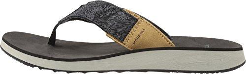 Merrell Men's Duskair Flip Sandal, Black, 10 M US J71159