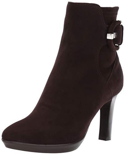 Aquatalia Women's Rachele DR STCH SDE Ankle Boot, Espresso, 8 M US