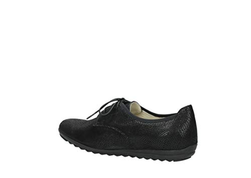 Black Lace Comfort 71000 Shoes Suede Wolky up Luzern U5YOwn7q