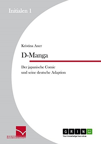 D-Manga. Der japanische Comic und seine deutsche Adaption (Initialen)