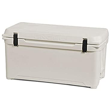 Engel ENG85-CW 19.5 Gallon 78 Can 85 High Performance Seamless Cooler, Coastal White