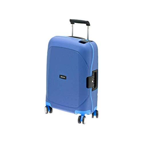 スーツケース sサイズ 27l ブルー×ブルー キャリーケース キャリーバッグ ビジネス 出張 旅行 ハードスーツケース キャビンケース メンズ レディース ヨーロッパブランド DAVIDTS/デイビット SK-Lineシリーズ ブルー×ブルー   B07KLXV61C