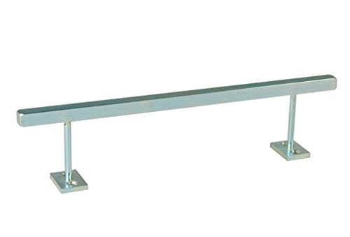 Blackriver Ramps Fingerboard Iron Rail Square - Silver by Blackriver Ramps (Image #1)