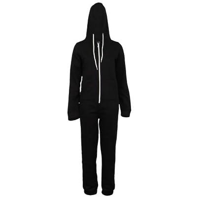 66P Womens Zip Up Romper Suit Ladies Hooded Winter Jumpsuit Onesies supplier