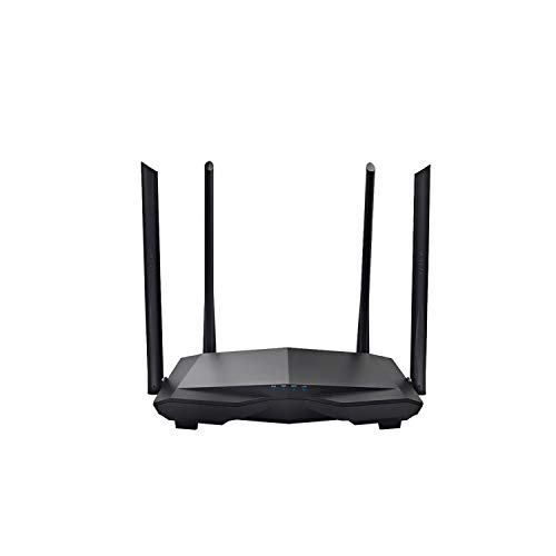 Wireless Routers Ac6 Wireless WiFi Router 1200M Dual Band 2.4Ghz/5.0Ghz 11Ac Wireless Wi-Fi Repeater 802.11Ac Smart Remote App Manage,with Original Box