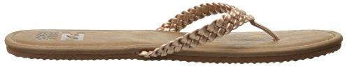 Pictures of Billabong Women's Braidy Flip Flop Brown Brown 3