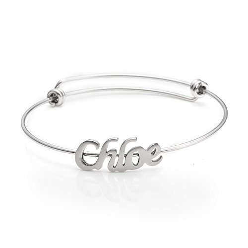 Personalized Name Bracelets Jewelry Gift for Friends Women Name Chloe