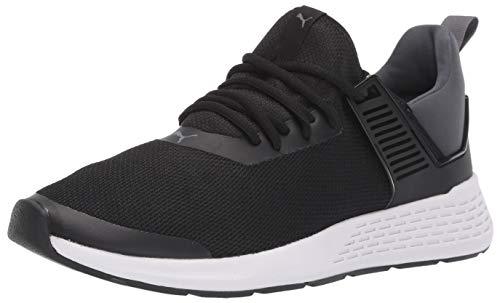 PUMA Men's Insurge Sneaker, Black-Iron gate, 10 M US